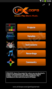 uFXloops Music Studio- screenshot thumbnail