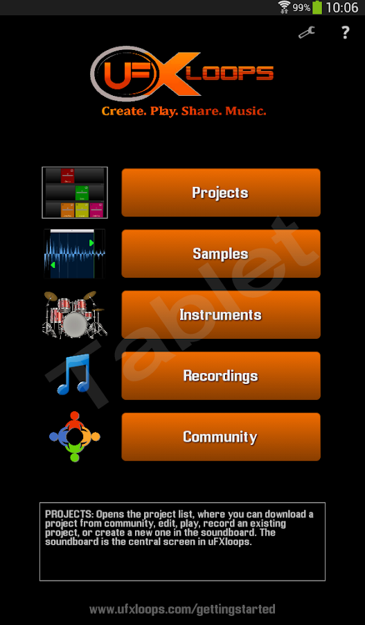 uFXloops Music Studio- screenshot