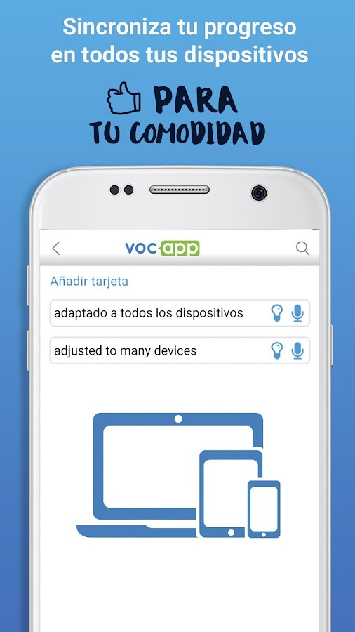VocApp Flashcards: captura de pantalla