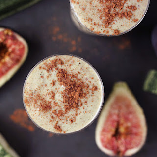 Zucchini Fig Smoothie.