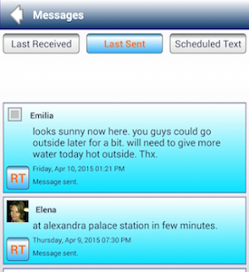 SMS Schedule,Group Text,Labels screenshot 5