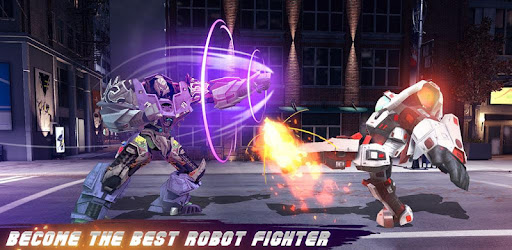 Transform your fighting robot,fight with enemy robot,be the last city hero robot