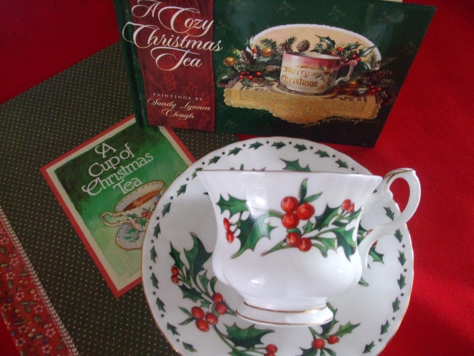 photo a cup of christmas tea