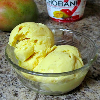 Mango Frozen Greek Yogurt