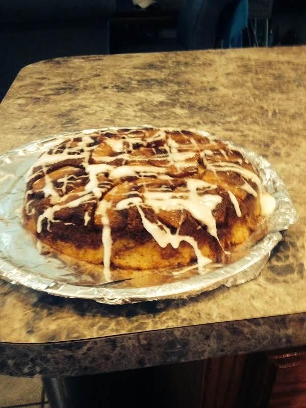 Warm Apple Pancake