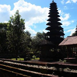 by Alfian Ghifari - Buildings & Architecture Places of Worship ( bali, tamanayun, balinesia, landscape )
