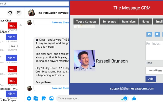 The Message CRM