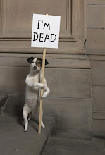 "Photo: David Shrigley, ""I'm Dead"" (2010) (courtesy Collection Hamilton Corporate Finance Limited, Kelvingrove Art Gallery and Museum) via Who Do You Think Should Win the 2013 Turner Prize? http://ow.ly/kzygc"