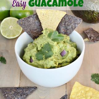 Easy Guacamole No Tomato Recipes.
