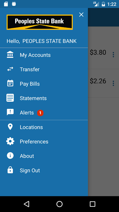 PSB Mobile Banking- screenshot