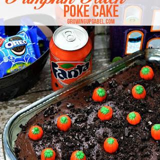 OREO Pumpkin Patch Fanta Orange Poke Cake