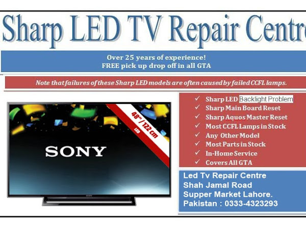 led tv repair center