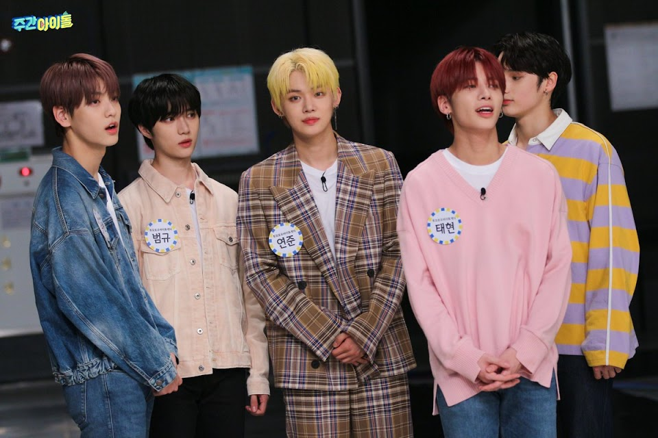 txt weekly idol