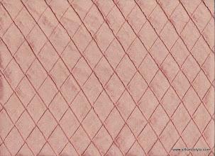 Photo: Pintuck Silk ~ Rose - 1 Inch Diamond