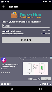 Ex Faucets LTC - Litecoin FAUCETHUB