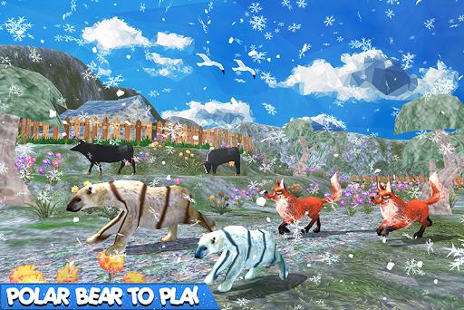 Bear Family Fantasy Jungle  captures d'écran 1
