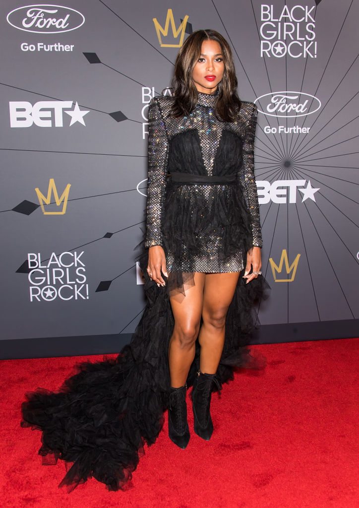 Ciara at the 2018 BET Black Girls Rock! Awards.