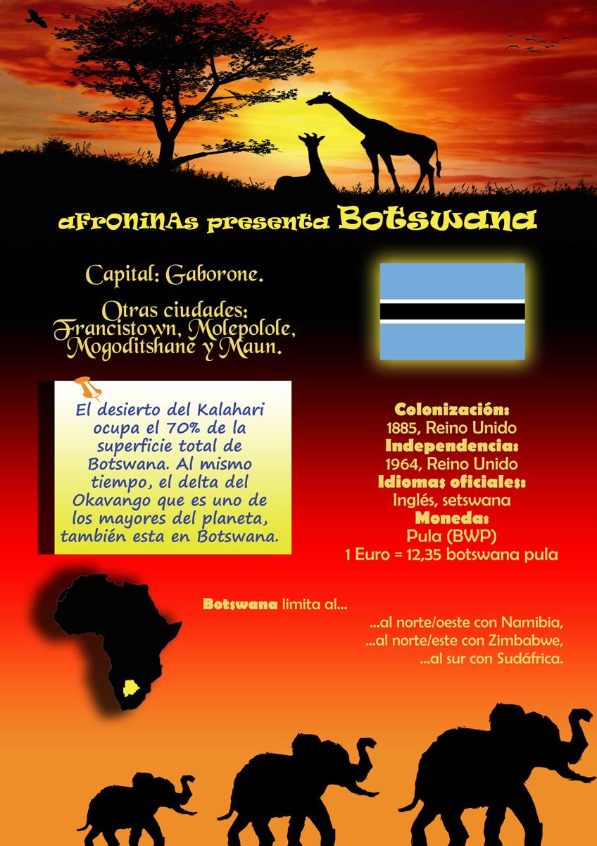 Photo: Un País de Africa: Botswana