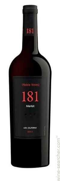 Logo for Noble Vines 181 Merlot