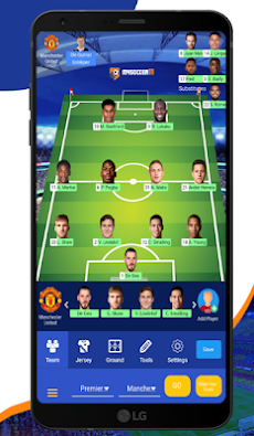 MYSOCCER11 - Football Lineup and Tactics Builder.のおすすめ画像2