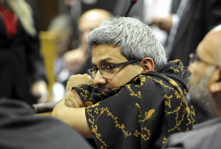 Gupta associate Ashu Chawla appears at the Bloemfontein commercial crimes court on February 15 2018. Picture: GALLO IMAGES/ NETWERK 24/ MLUNGISI LOUW