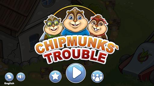 Chipmunks' Trouble  screenshots 1