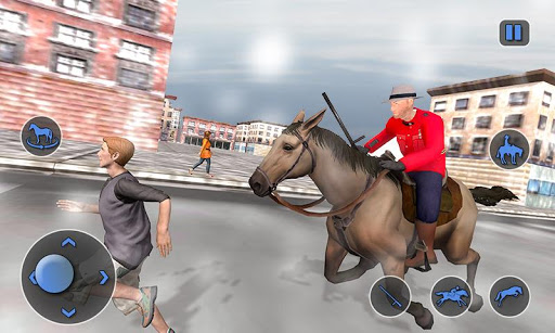 Mounted Horse Police Chase: NY Cop Horseback Ride 1.0.2 androidappsheaven.com 2