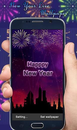 Happy New Year Live Wallpaper 1.0 screenshots 2