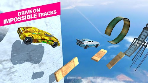 Screenshot 2 Stunt Car 1.7 APK MOD
