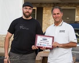 Photo: Colin Doyle wins a Merkur Innovation award