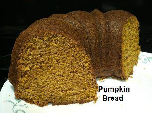 Pumpkin Bread With Maple Cream Cheese