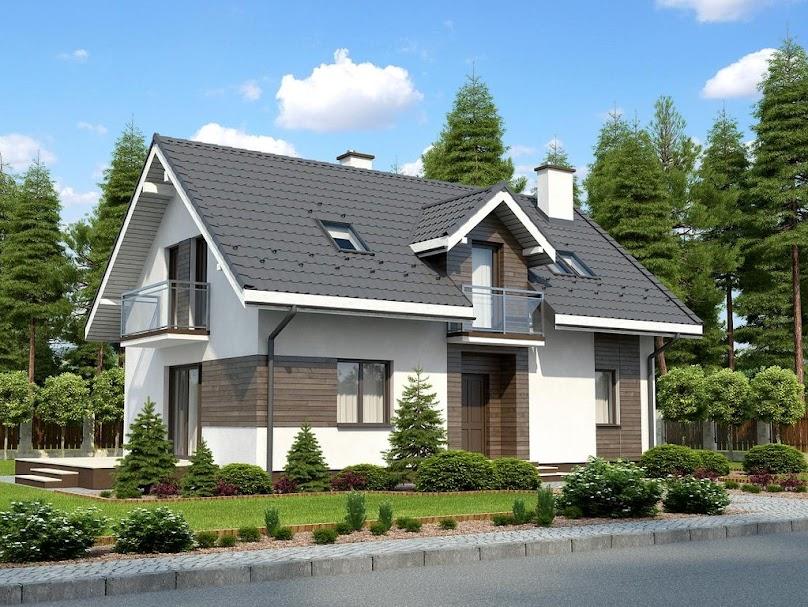 Dach dwuspadowy jest tani i szybki w budowie