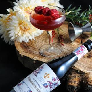 The Royal Raspberry – A Raspberry Manhattan Cocktail.