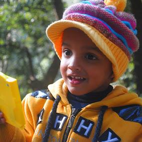 I won!!! by Pramesh Pokharel - Babies & Children Children Candids ( child, happy, game )