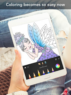 Princess coloring book 15
