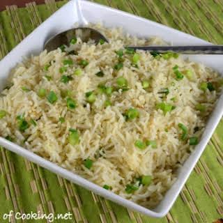 Sesame Garlic Basmati Rice.