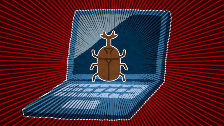 パソコンの液晶画面の中に虫が入った!その対処法は?