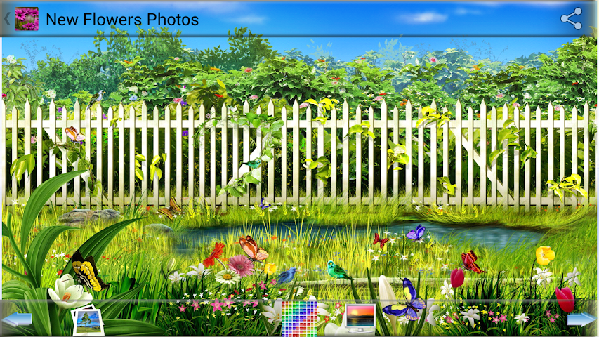 android New Flowers Photos Screenshot 1
