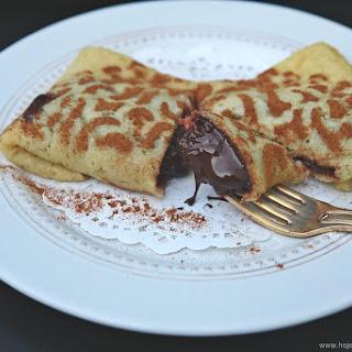 Chocolate Crepe.