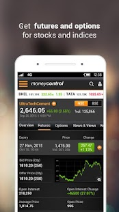 Moneycontrol Markets on Mobile- screenshot thumbnail