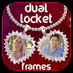 Dual Love Locket Photo Frames