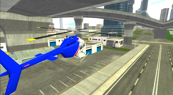 City Helicopter Simulator Game- screenshot thumbnail
