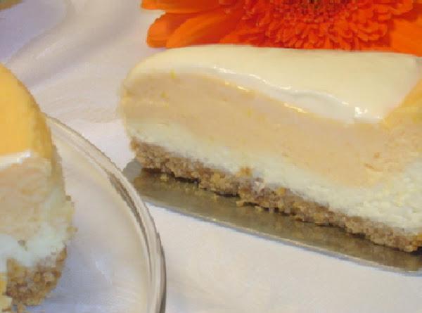 Orange Cream Cheesecake Recipe