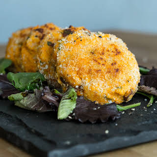Sweet Potato & Chicken Patties.