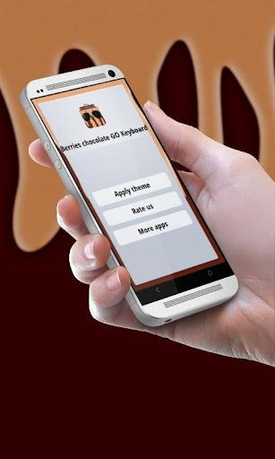 玩個人化App|漿果巧克力 GO Keyboard免費|APP試玩