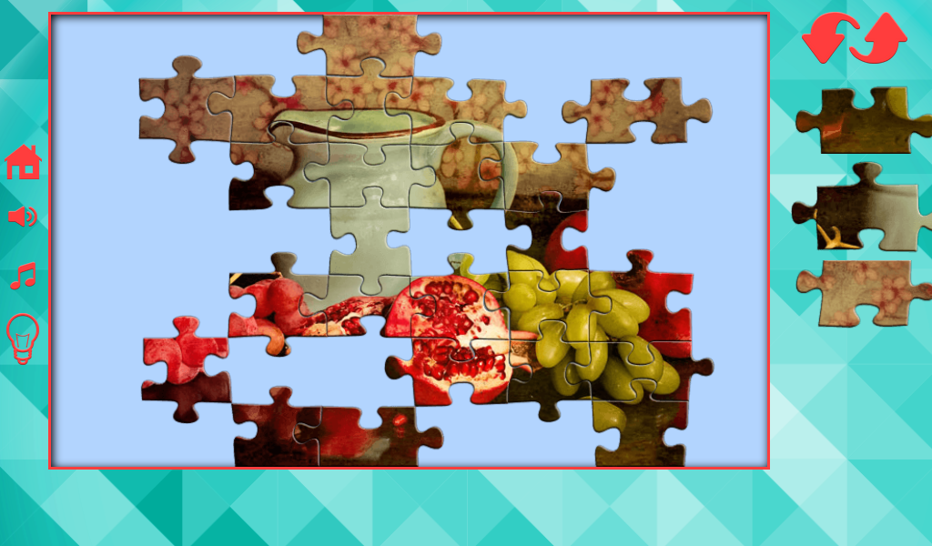Puzzles for adults- screenshot