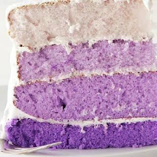 Gorgeously Vegan Purple Taro Cake.