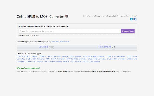 EPUB to MOBI Converter