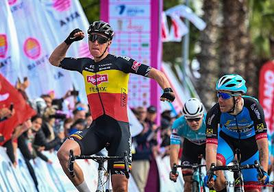Tim Merlier sprint sneller dan Ackermann en Gaviria in Tirreno
