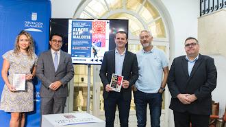 Presentación de la segunda edición del Festival Albert Hay Malotte, ayer en Diputación.